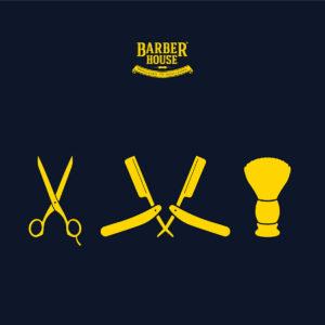 Barber House Kontur Rasur mit Bart Trimmen