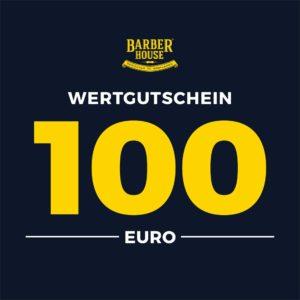 Barber House Wertgutschein 100 EUR Geschenk