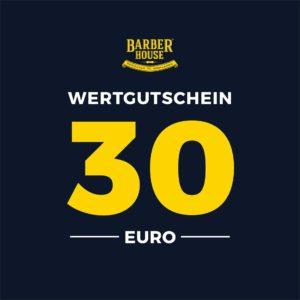 Barber House Wertgutschein 30 EUR Geschenk