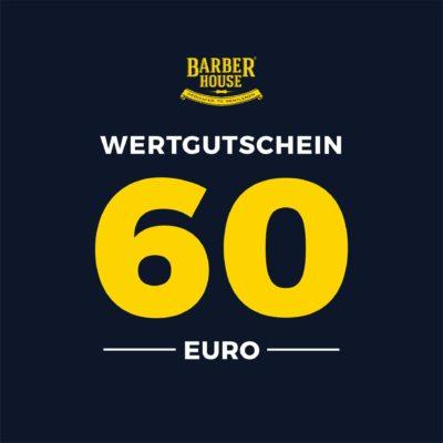 Barber House Wertgutschein 60 EUR Geschenk