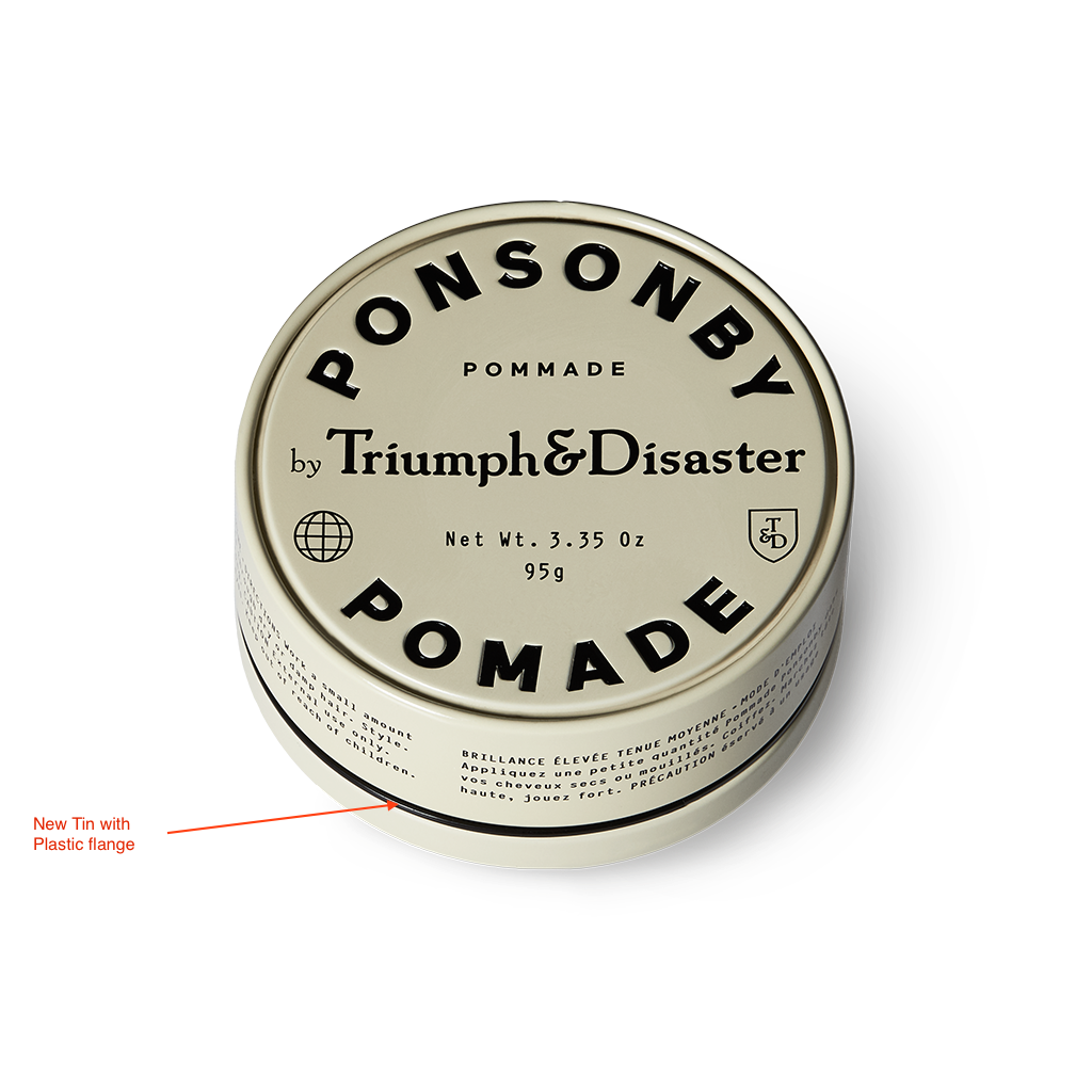 Ponsonby Pomade Triumph & Disaster