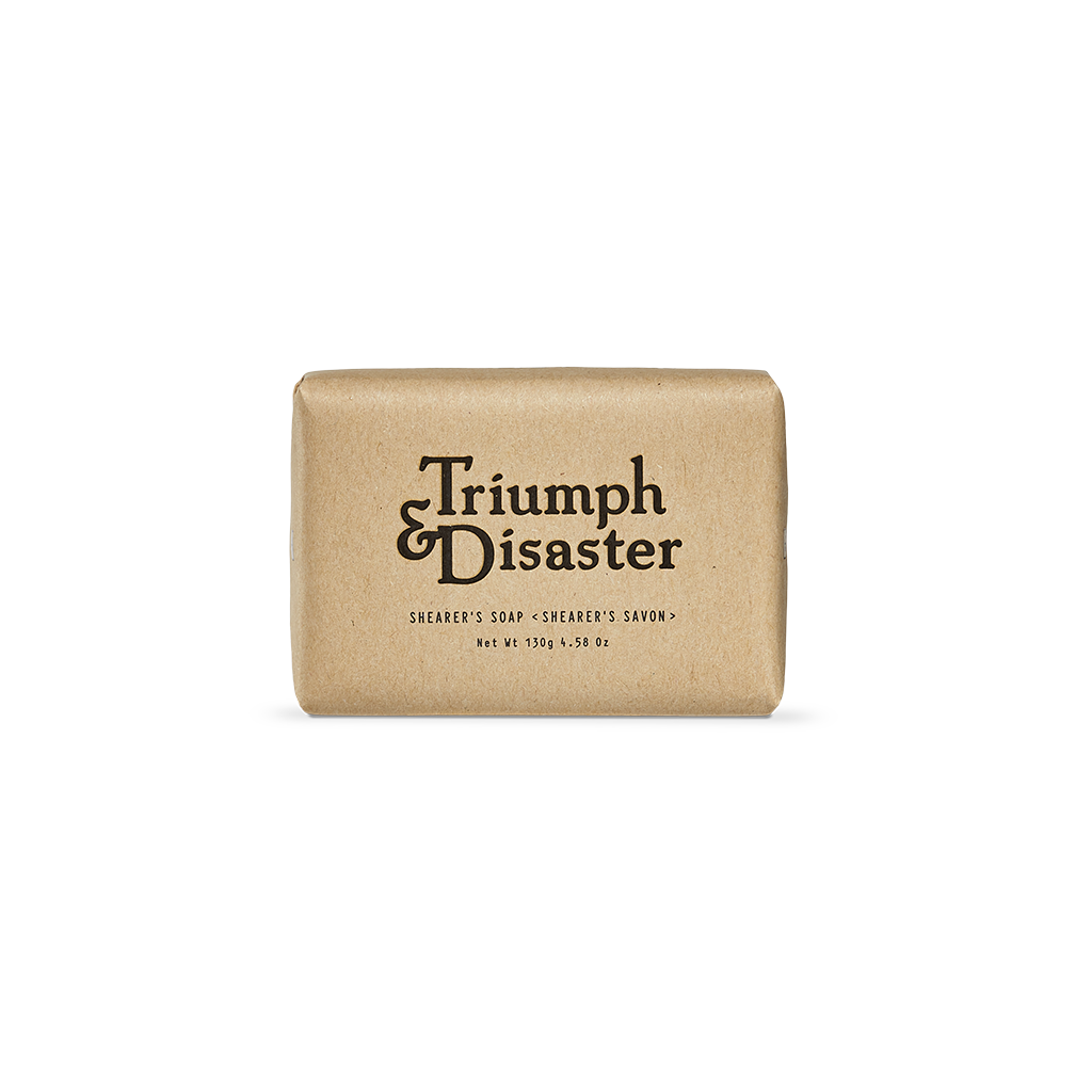 Triumph & Disaster Shearers Soap