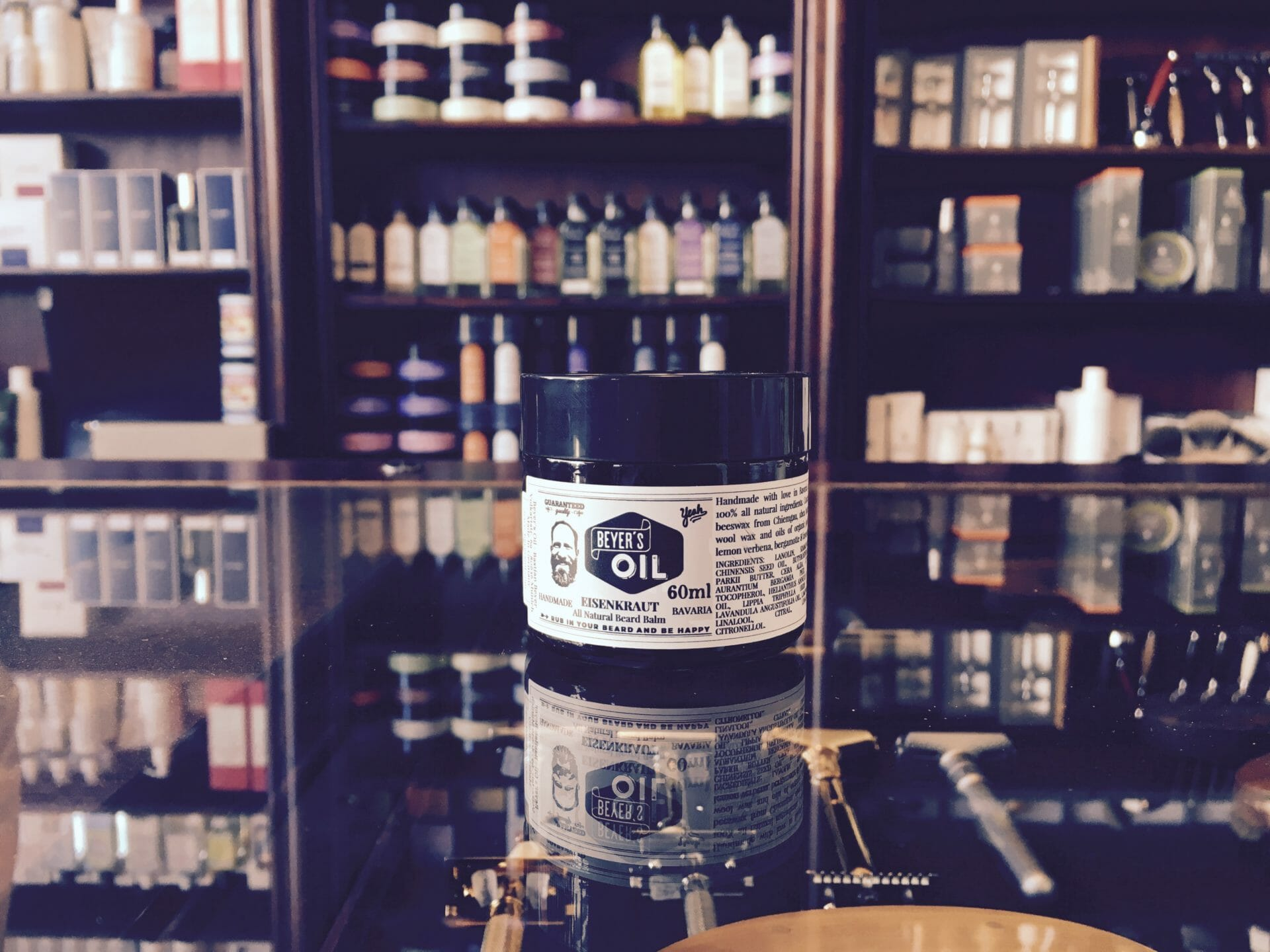 Beyer´s Oil Bart Balm im Barber House