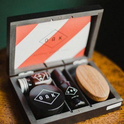 OAK-Geschenkbox bei Barber House Filiale in Muenchen