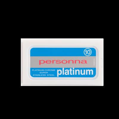 Personna Platinum Doppelseitige Rasierklinge