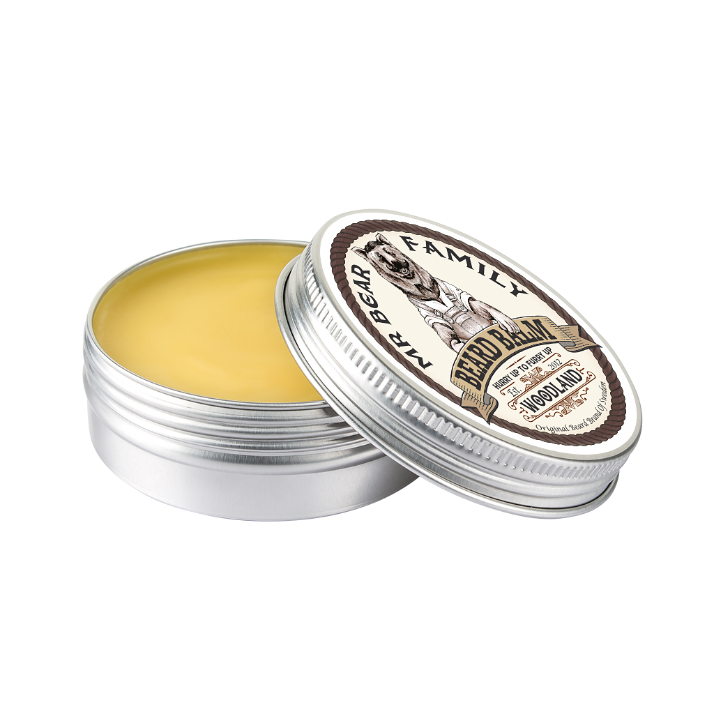 Mr Bear Family beard balm woodland Bartbalsam
