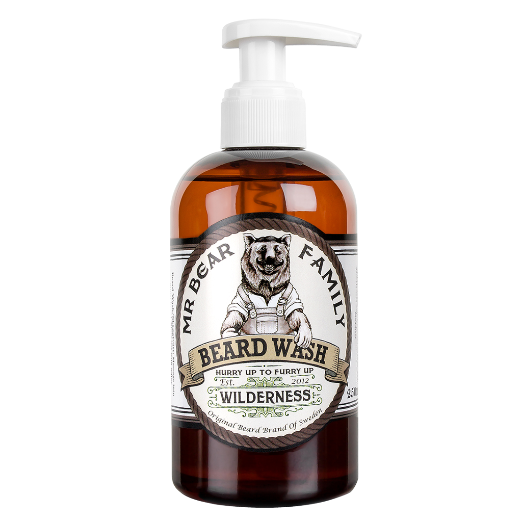 Mr Bear Family beard wash Wilderness Bartshampoo