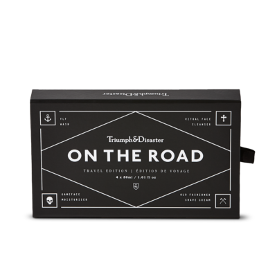 On The Road Travel Box Triumph and Disaster