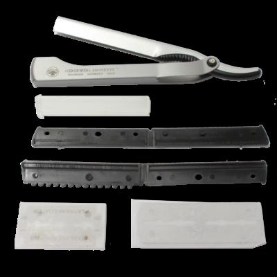 Barber-Barbier-Dovo-Shavette-201-087-Einzelteile