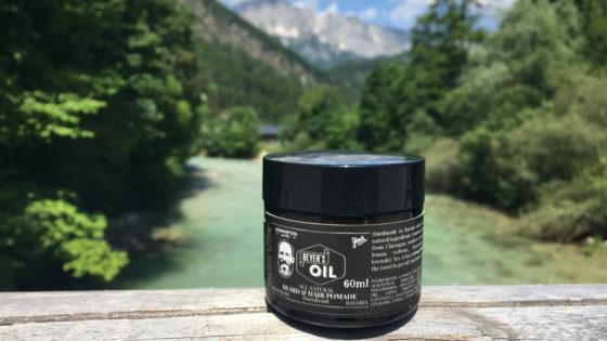 Beyers Oil feste/extra strong Haar und Bartpomade