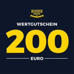 Barber House Wertgutschein 200 EUR Geschenk