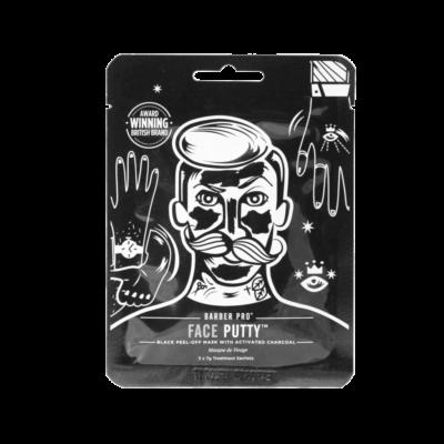 Barber Pro Face Putty schwarze Gesichtsmaske für Männer