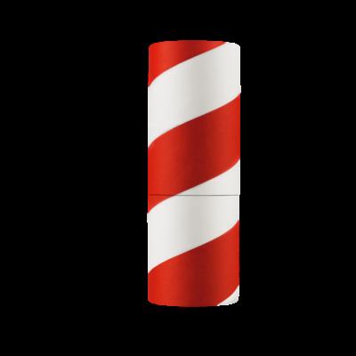 OAK WAX Barberpole Verpackung mit Bartwachs