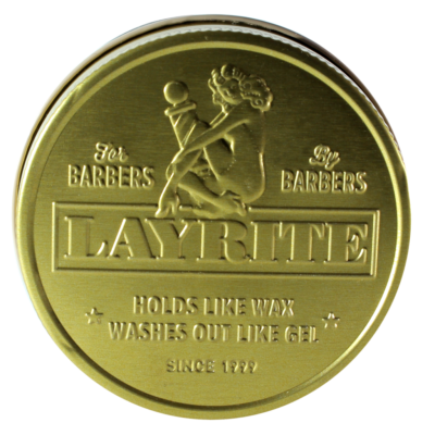Layrite Pomade Waterbased Gold Deckel