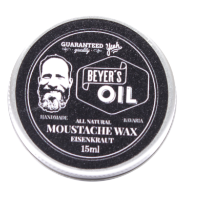 Beyers Oil Moustache Wax Eisenkraut 15ml