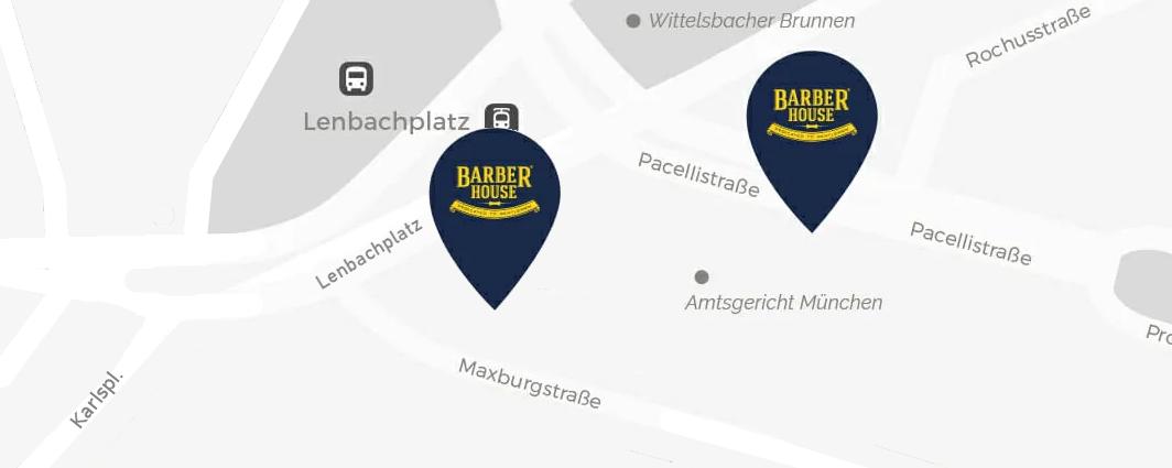 Barber House Lenbachplatz MINI Pavillon