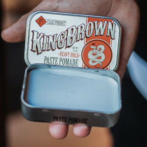 King Brown Matte Heavy Hold Pomade