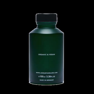 Lennart & Luke Flasche hinten 100ml Organic Vegan Aftershave