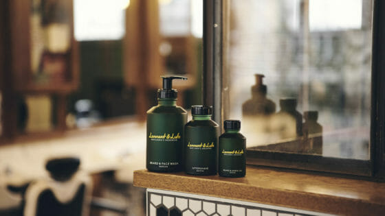 Lennart and Luke Gentlemen Shampoo Bartoel Aftershave Pflegereihe Matcha