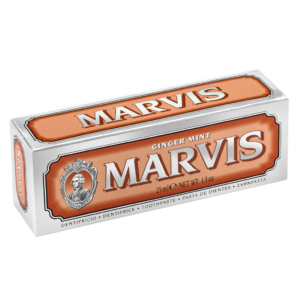 Marvis Ginger Mint Zahncreme 25ml Ingwer Box