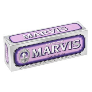 Marvis Zahncreme Jasmin Mint 25ml Nostalgic Box Lila